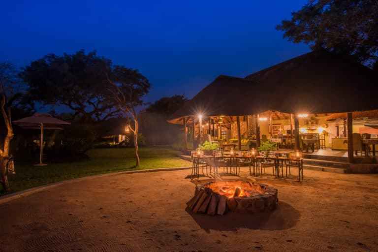 South African Safari Food at Thornybush