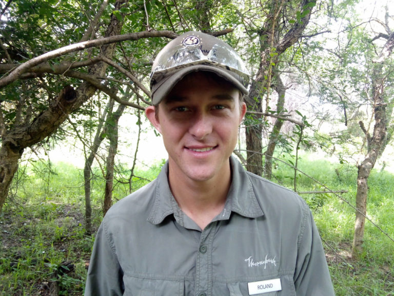 Roland Mann - Game ranger at Thornybush Lodges